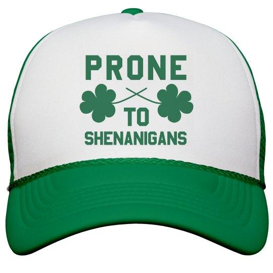 Irish Prone To Shenanigans