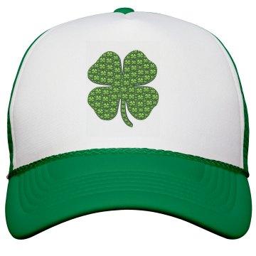 Irish Shamrock Hat