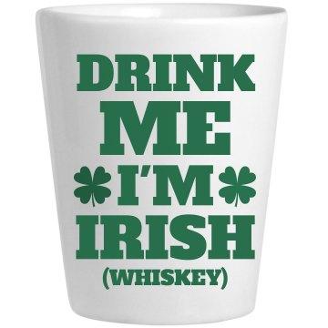 Irish Whiskey St Patricks Shots