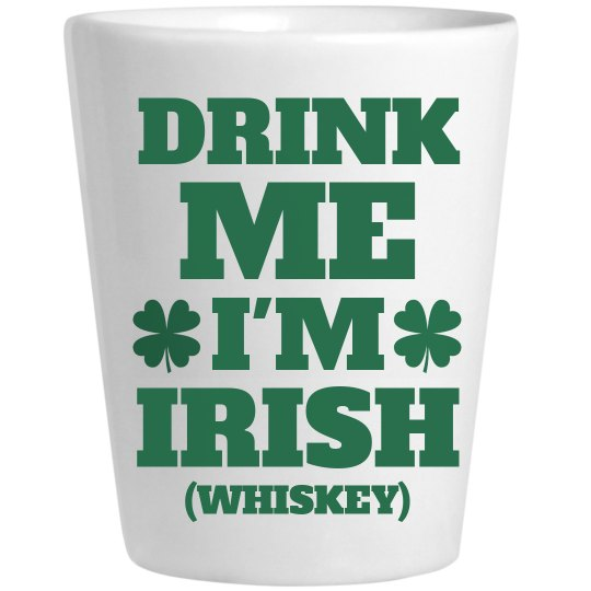 Irish Whiskey St Patricks Shots