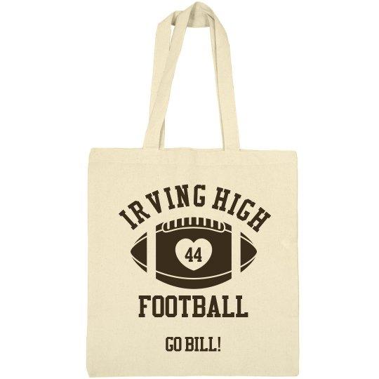 Irving High Football Bag