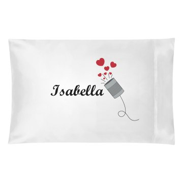 Isabella pillowcase