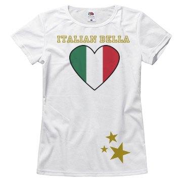 Italian bella shirt