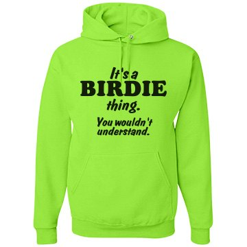 It's a Birdie thing!