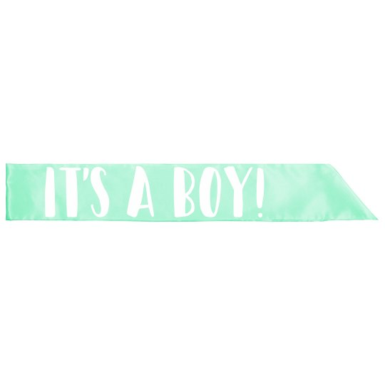 It's A Boy Gender Reveal Mother