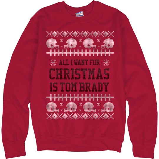 It's A Brady Christmas Ugly Sweater