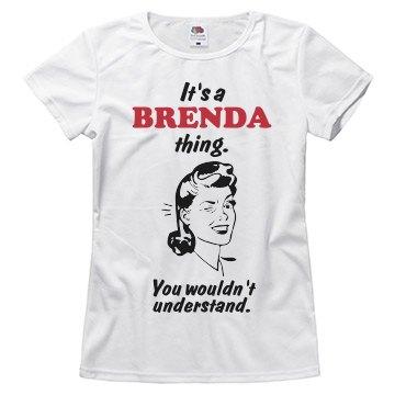 It's a Brenda thing