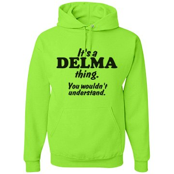 It's a Delma thing!