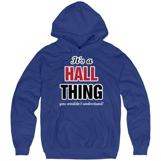 It's a hall thing