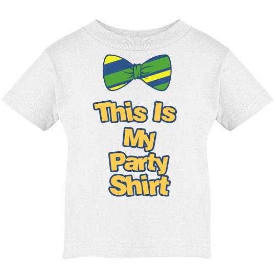 It's A Infant Party Shirt