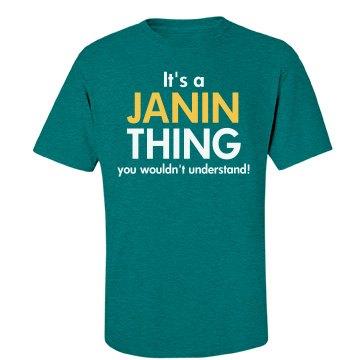 It's a Janin thing