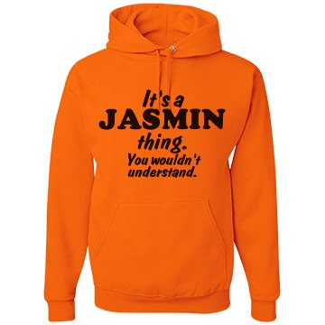 It's a Jasmin thing