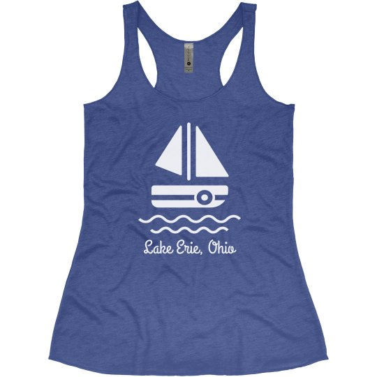 It's a Lake Day Custom Comfy Racerback