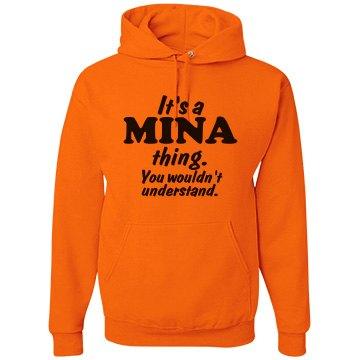It's a Mina thing!