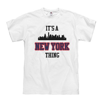It's a new york thing