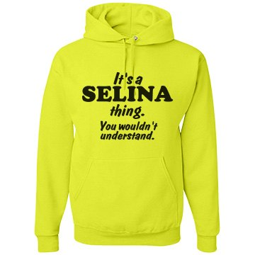 It's a Selina thing!