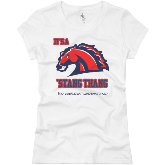 It's a Stang Thang Girls Tee