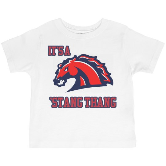 It's a 'Stang Thang Mustangs Toddler Tee