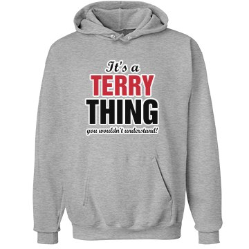 It's a Terry thng