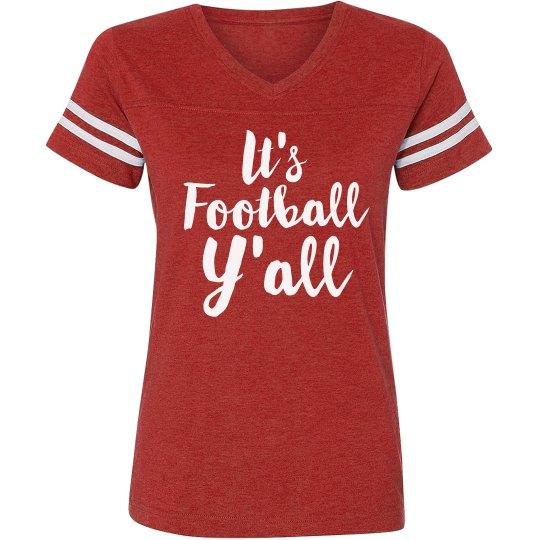 It's Football Y'all Team Spirit