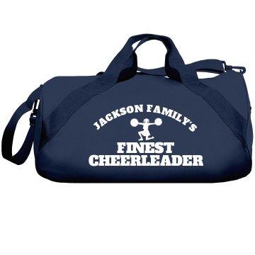 Jackson Family Cheerleader