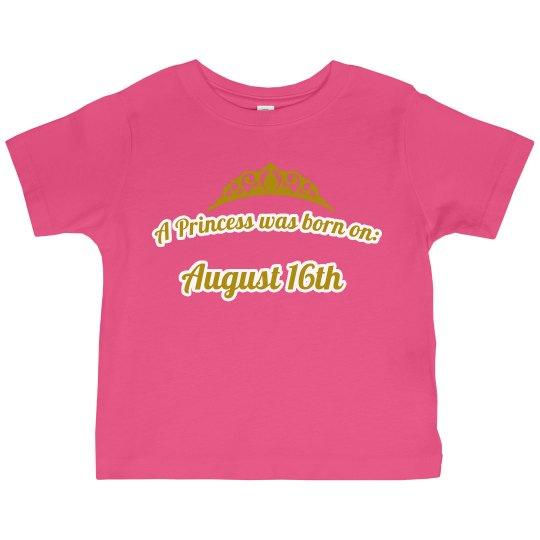 Jai'ana's princess shirt