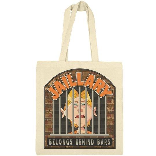 Jaillary Hillary for Prison