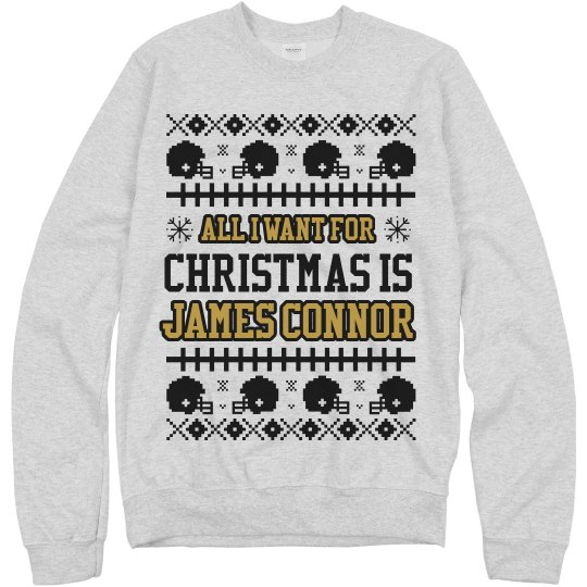 James Connor For Christmas Sweater