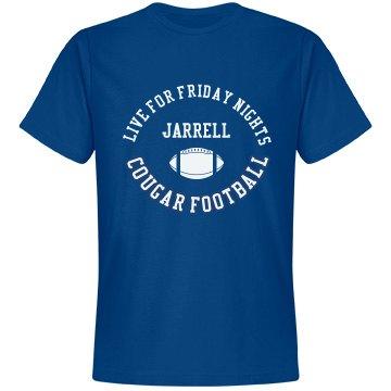 Jarrell Live for Fridays Blue