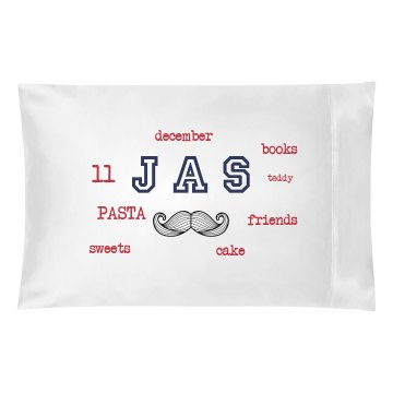 JAS pillow double sided