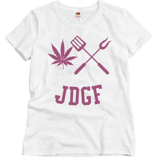JDGF SHIRT ladies dark pink