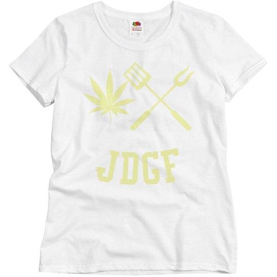JDGF SHIRT ladies light yellow