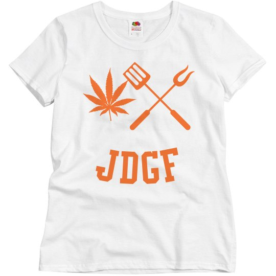 JDGF SHIRT ladies orange