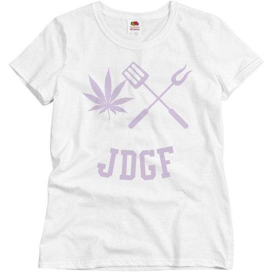 JDGF SHIRT ladies pale lavender
