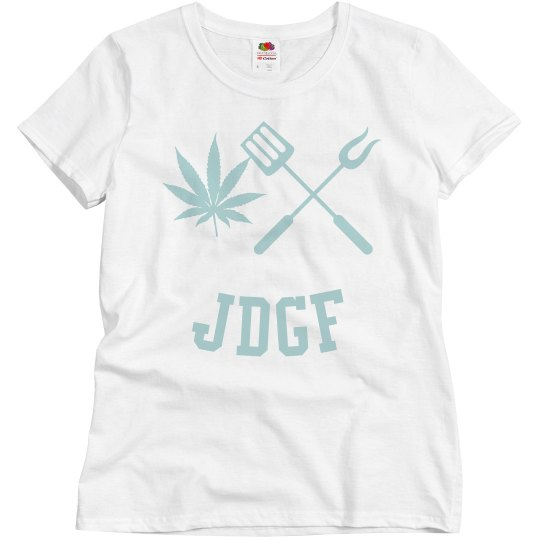 JDGF SHIRT ladies pastel blue