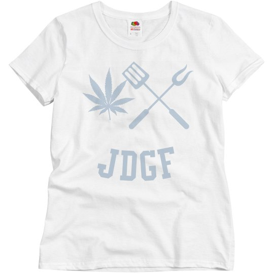 JDGF SHIRT ladies periwinkle