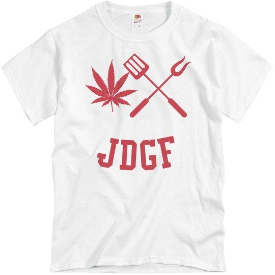 JDGF SHIRT red