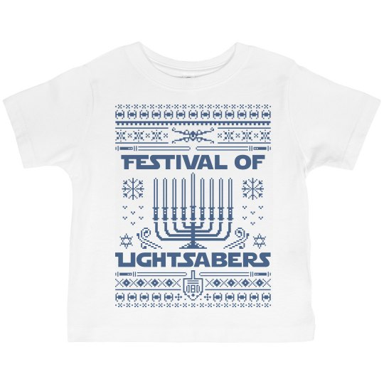 Jedi Hanukkah Toddler