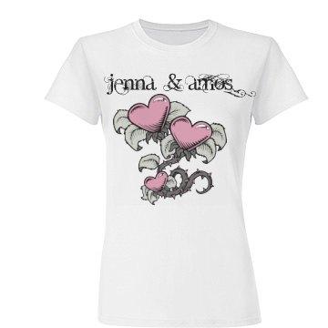 Jenna & Amos Love Tee