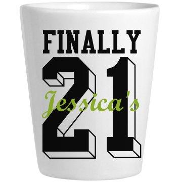 Jess Finally 21 Birthday