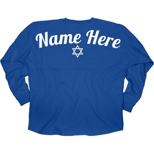 Jewish Star Billboard Jersey