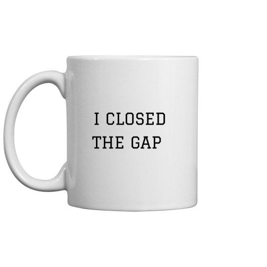 "JJOA ""Close The Gap"" Coffee Mug"