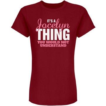 Jocelyn Thing