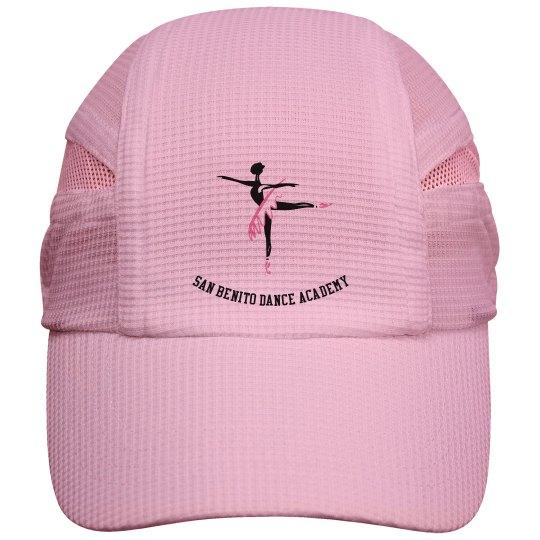 Jogger hat dancer logo