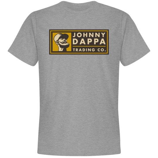 Johnny Dappa Trading Co. Horizontal Tag Logo