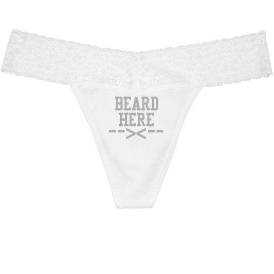 Johnny Dappa Trading Co. Laced Thong Underwear