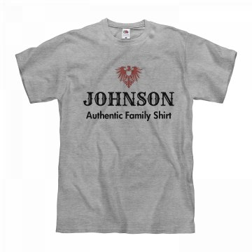 Johnson authentic shirt