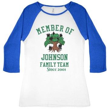 Johnson's family team