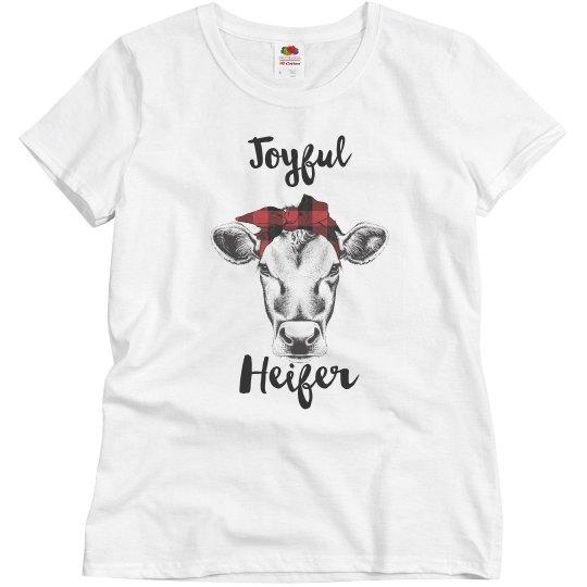 Joyful Heifer