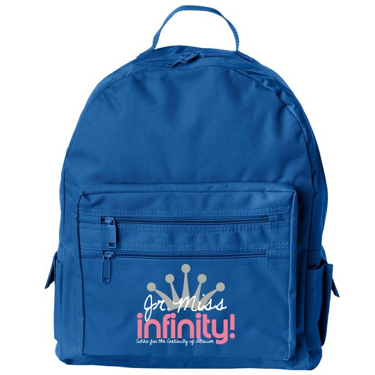 JR. MISS INFINITY Logo Backpack